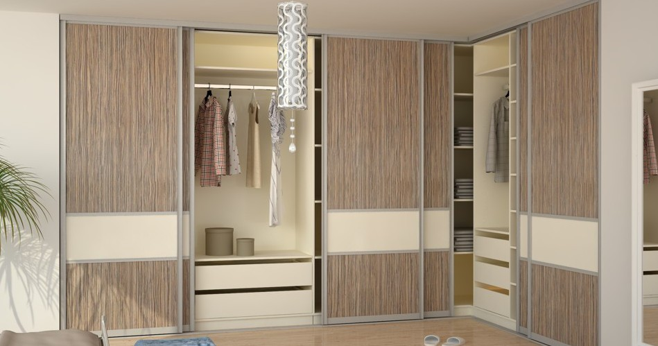 schrank system mit schiebet r. Black Bedroom Furniture Sets. Home Design Ideas
