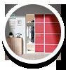 zimmer schiebet ren nach ma. Black Bedroom Furniture Sets. Home Design Ideas